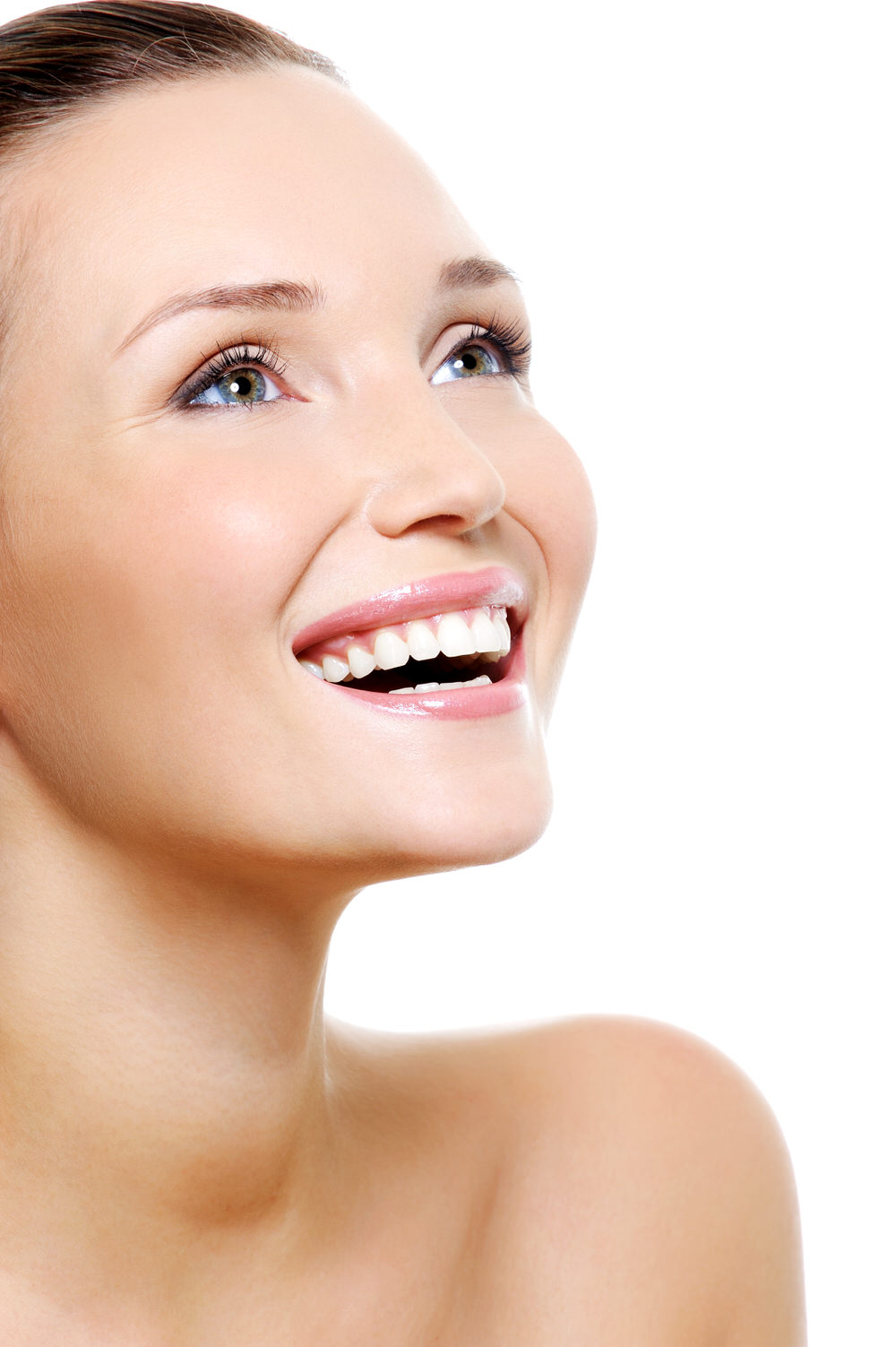 Smiling Woman after Kybella